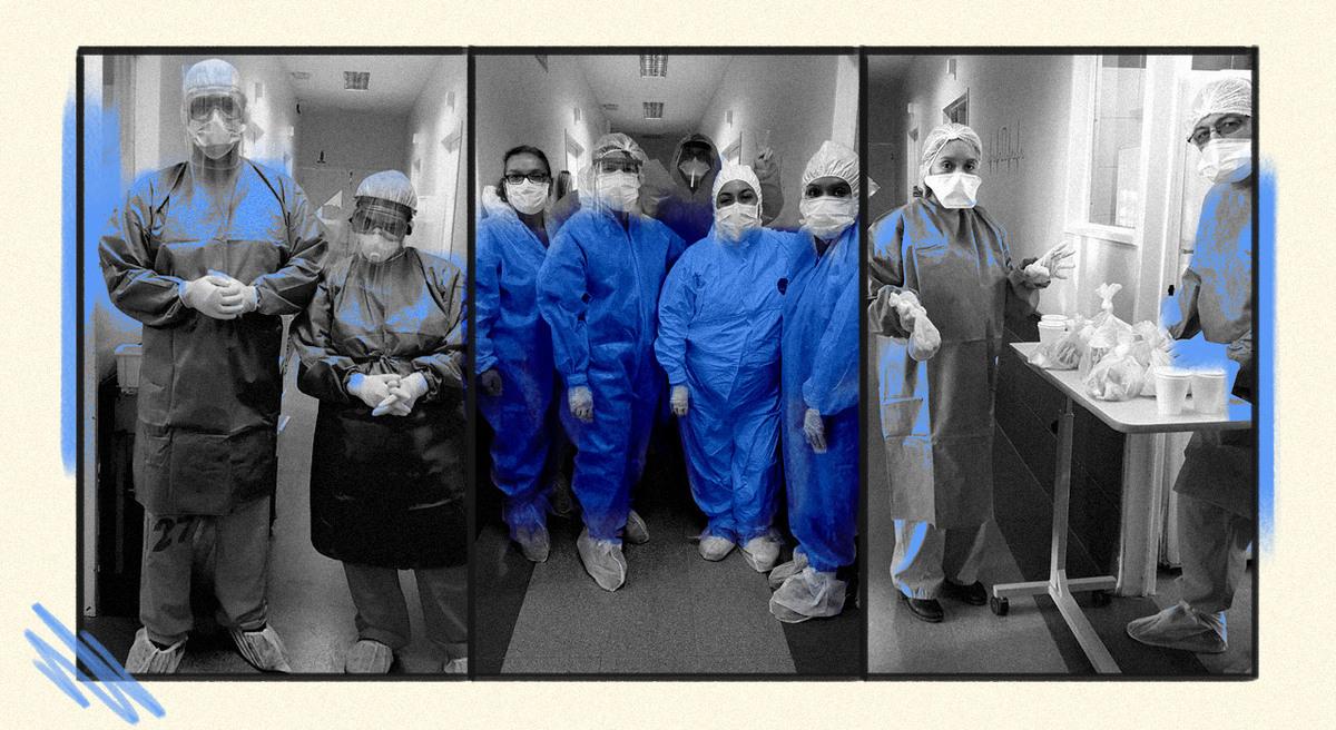 """Cómo es el protocolo médico para """"estar cerca"""" de los pacientes con COVID-19 y evitar el aislamiento absoluto"""