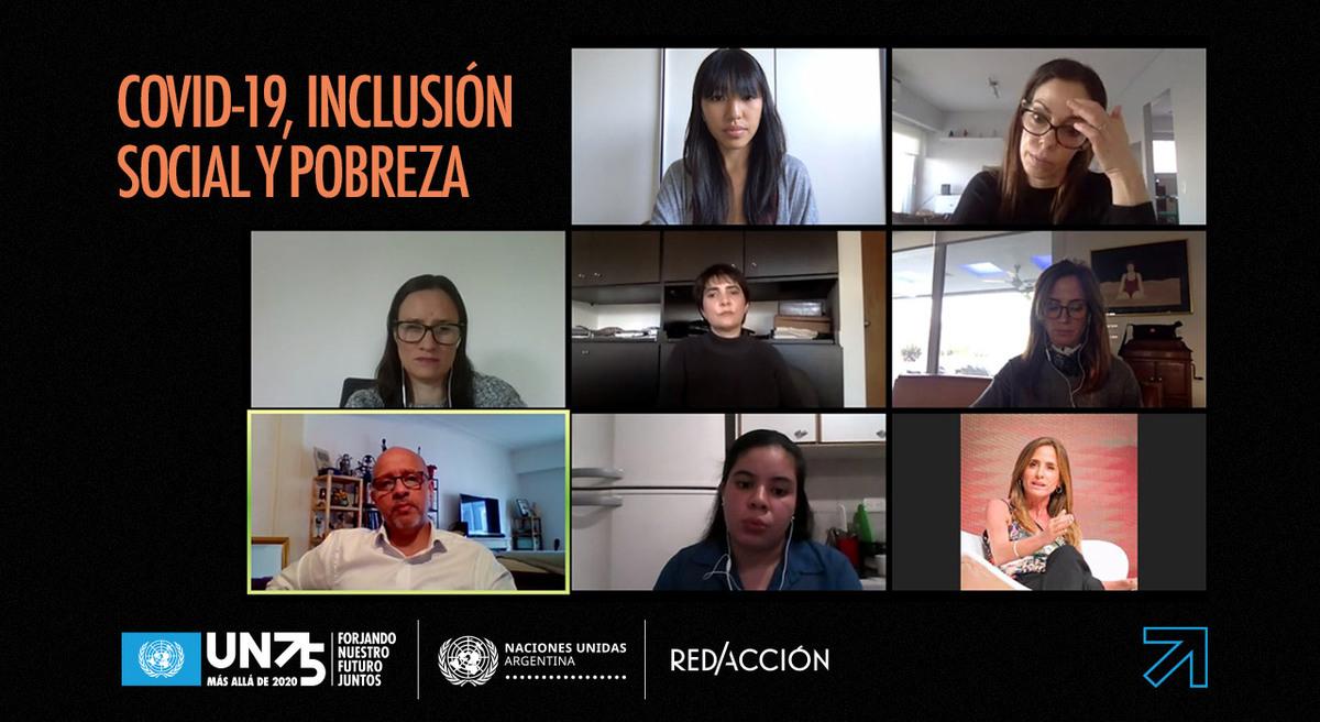 Conversaciones virtuales: cómo reducir el impacto de la pandemia en las comunidades vulnerables