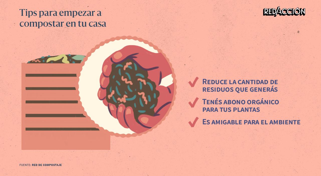 Qué es el compost y cómo armar una compostera en tu casa