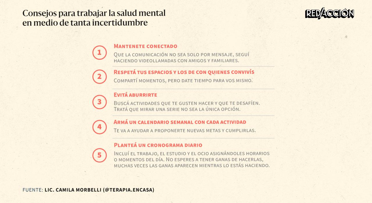 Tres meses de cuarentena: consejos para trabajar la salud mental en medio de tanta incertidumbre