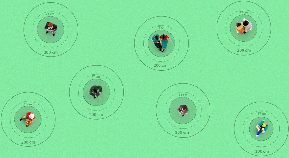 Por qué el distanciamiento social es un desafío mayor en la Argentina que en otros países