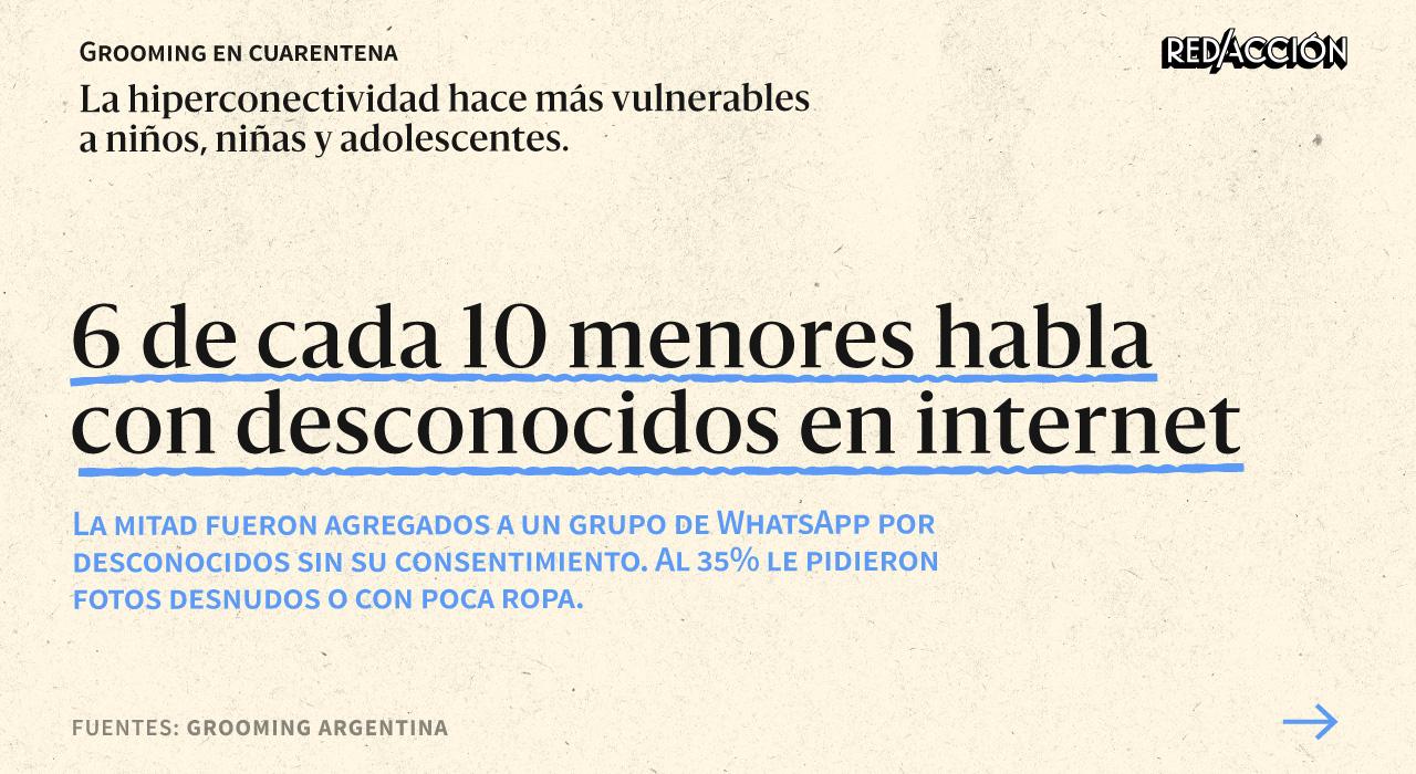Acoso sexual virtual: la cuarentena hace más vulnerables a niños y adolescentes