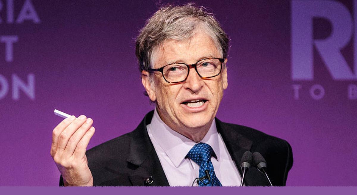 Bill Gates habló de las teorías conspirativas que lo vinculan con vacunas para implantar microchips