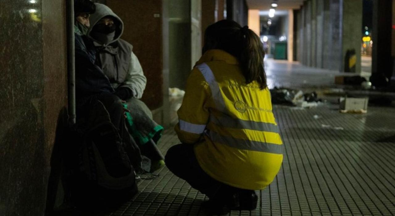 Boca, River, Red Solidaria y el Gobierno porteño, reunidos para fortalecer el operativo de asistencia a las personas en situación de calle