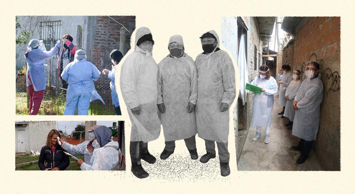 El trabajo de los vecinos para enfrentar demoras en el testeo, rastreo de casos y aislamiento en villas y asentamientos