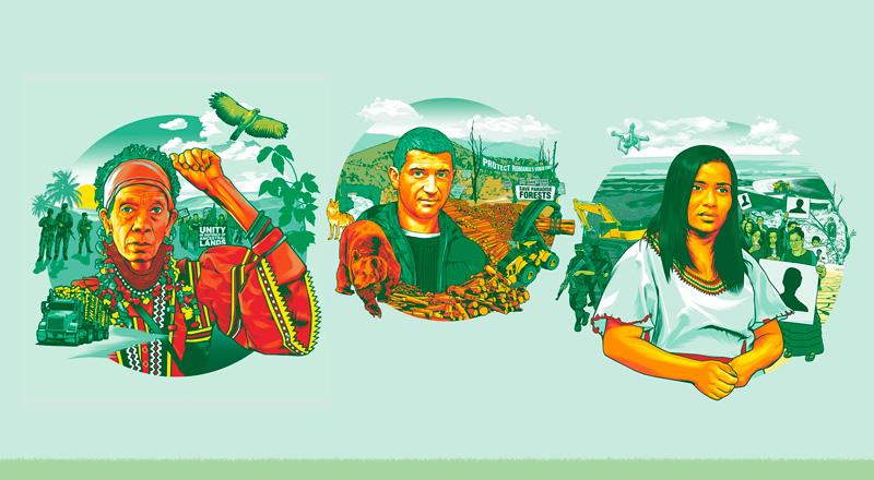 América Latina: la región más peligrosa para los defensores ambientales