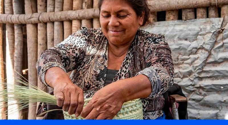 Claves de las mujeres del Gran Chaco para seguir comercializando sus artesanías