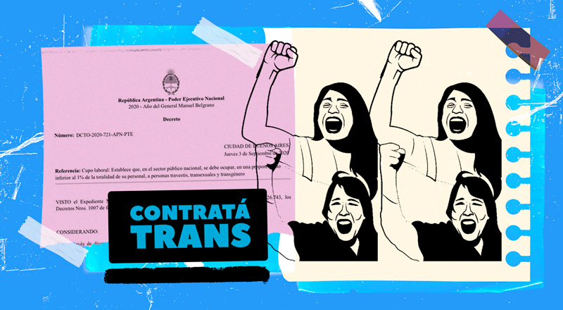 Más allá de la estigmatización: las personas trans buscan conseguir todo tipo de trabajos