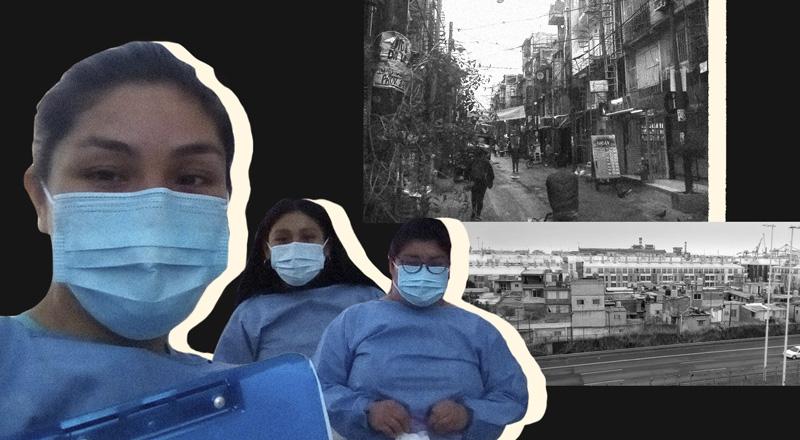 Puerta a puerta y sin descanso: los arduos meses de una promotora de salud en la Villa 31 para contener el coronavirus
