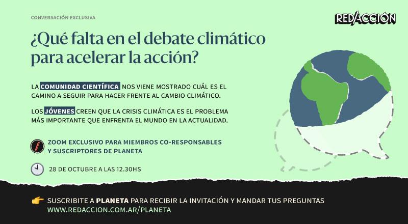 Una conversación transnacional entre activistas y científicas comprometidas ante el cambio climático
