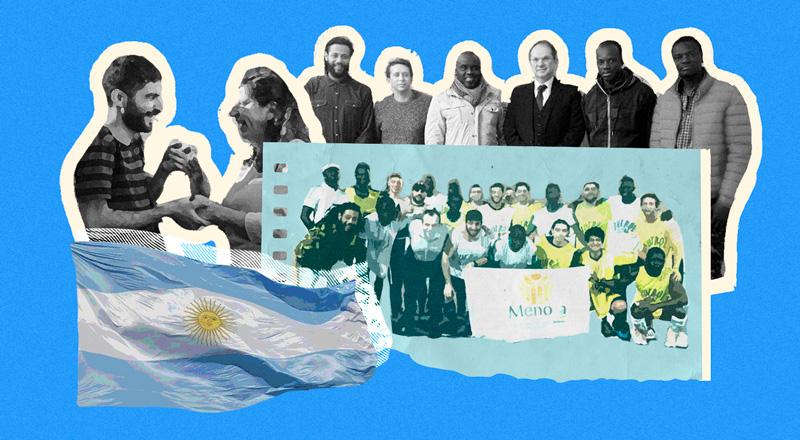 Acá les damos refugio: por qué Argentina es uno de los países más amigables para quienes escapan del horror