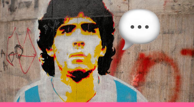Las palabras inolvidables de Maradona