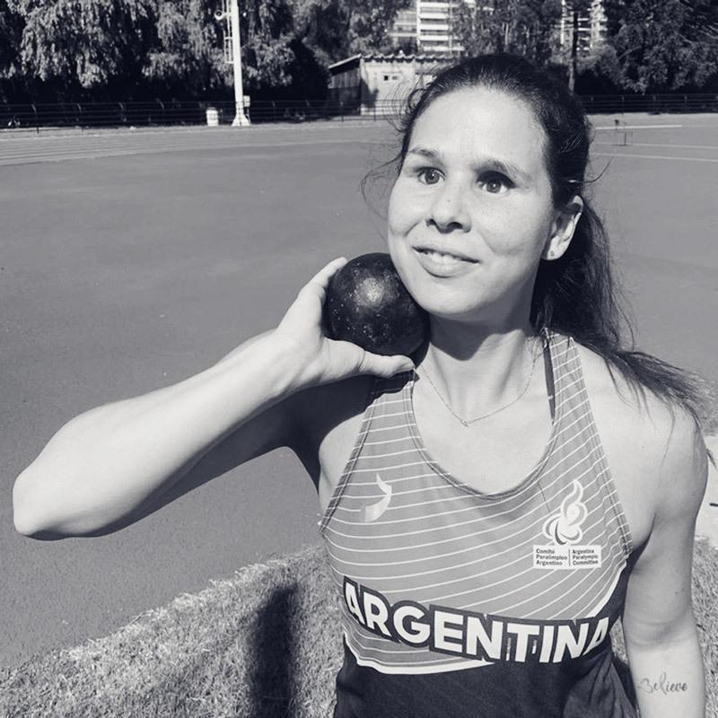 Florencia, la atleta que sabe que siempre se puede