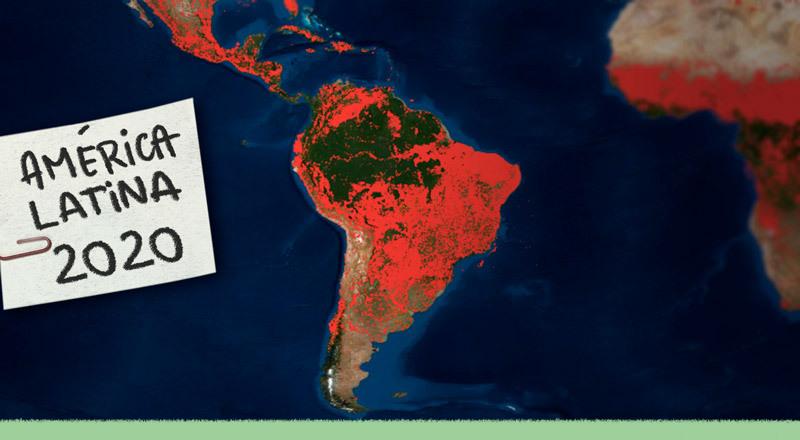 América Latina: lo que nos deja 2020 en materia ambiental y climática