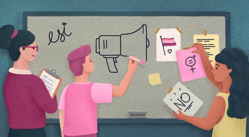 Qué ideas proponen adolescentes y jóvenes para eliminar la violencia de género desde políticas públicas