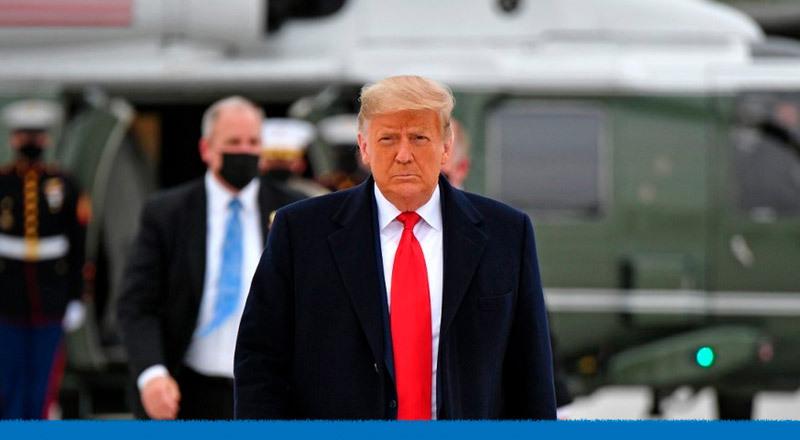 Donald Trump, el presidente cancelado