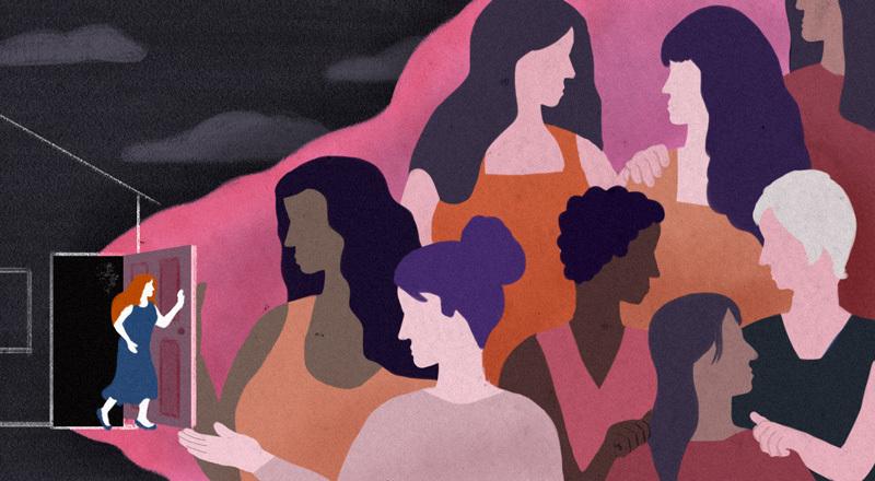 """Acompañantes comunitarias: cómo trabajan en el eslabón clave para librar de la violencia de género a mujeres """"doblemente encerradas"""""""
