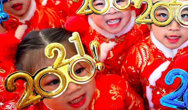 Optimismo por el año nuevo