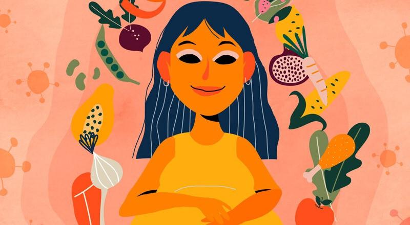 Por qué llevar una dieta equilibrada es crucial para tener un embarazo sano