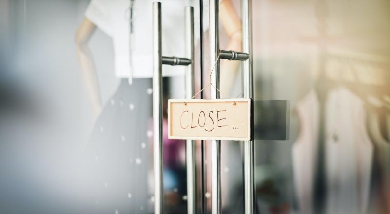 En el promedio país, cerraron 9 locales por cuadra