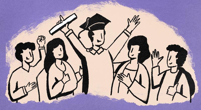 Con más experiencia y disfrute, pero también con menos tiempo y más compromisos: cómo se vive empezar la universidad en la adultez