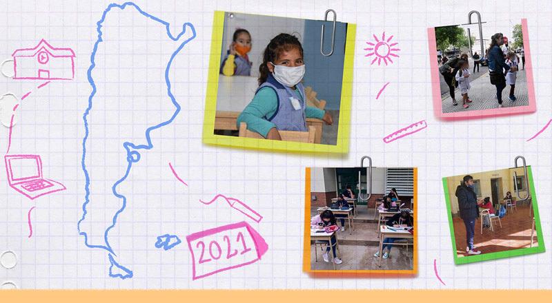 Docentes argentinos y de España cuentan el desafío que significa la vuelta a las aulas