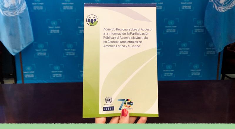 Entra en vigencia el Acuerdo de Escazú: qué significa y qué ocurre en los países que lo ratificaron