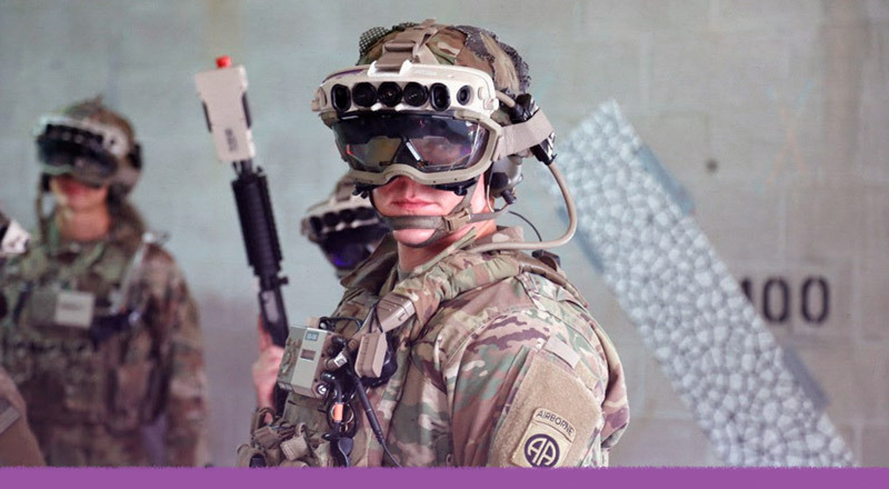 El uso de la realidad aumentada en el ejército estadounidense