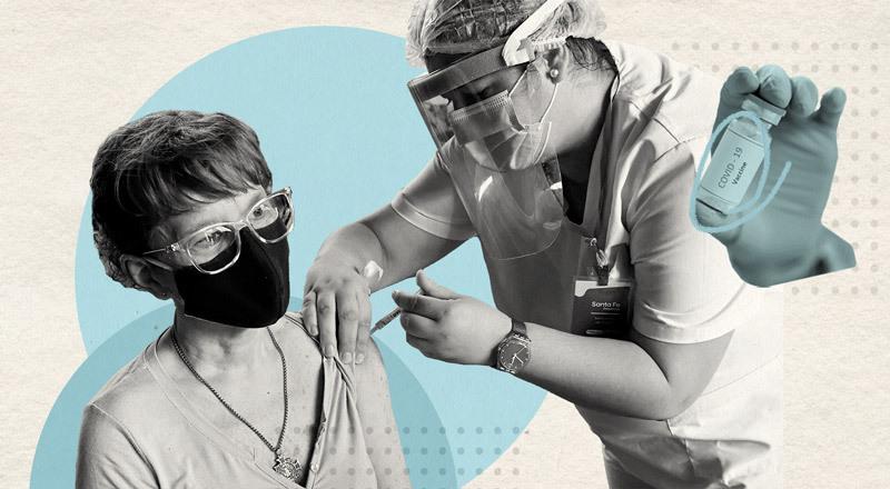 El alivio luego de un año guardados: cómo la vacuna les cambia la vida a los adultos y adultas mayores