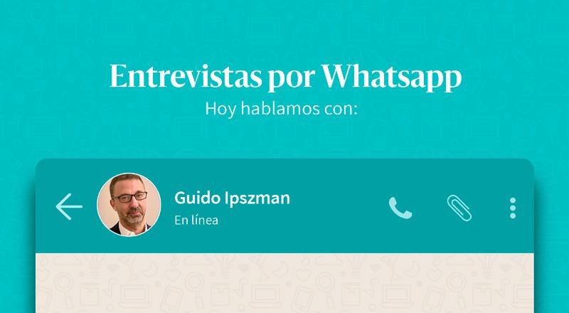 """Guido Ipszman: """"En Argentina hay muchos jóvenes que celebran el uso de la tecnología como un puente para mejorar el desarrollo de la sociedad"""""""