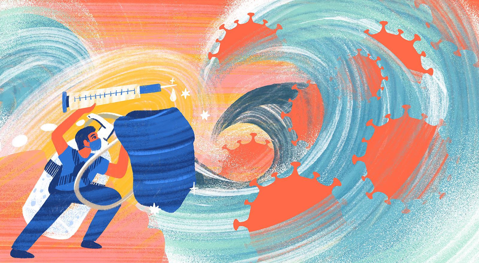 Cómo no hundirnos en el miedo de la segunda ola: estrategias y recursos para surfearlo y cuidarnos