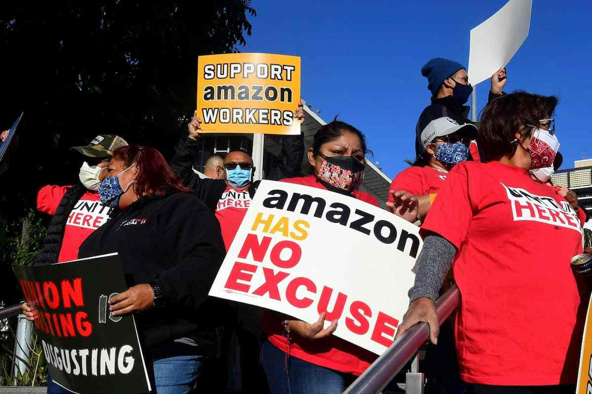 La guerra por la sindicalización de Amazon