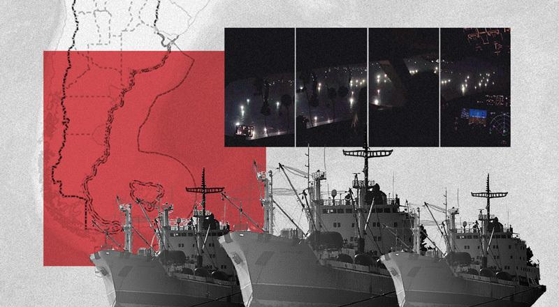 Pesca ilegal en el Mar Argentino: qué pasa en la milla 200