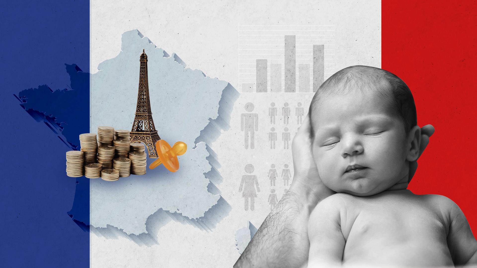 En Francia, las políticas públicas se concentran en los derechos de las mujeres para  sostener la tasa de natalidad