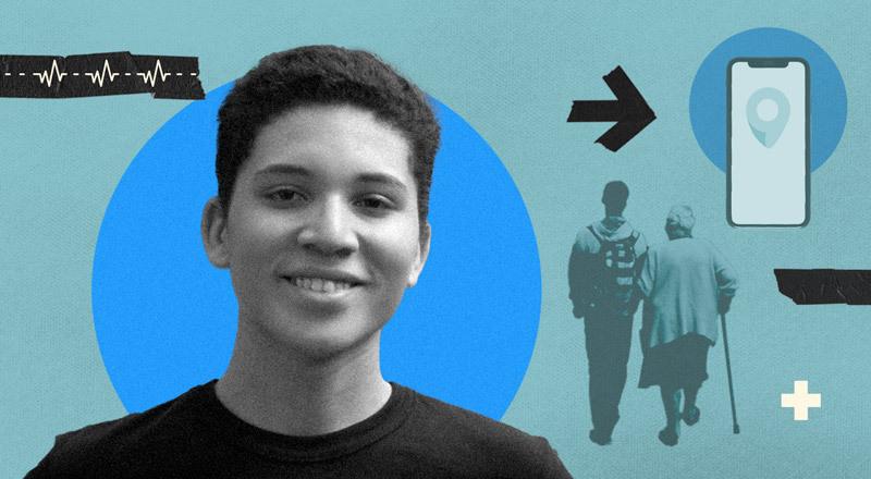 Christopher, el adolescente programador que quiere incluir a los adultos mayores en el mundo digital