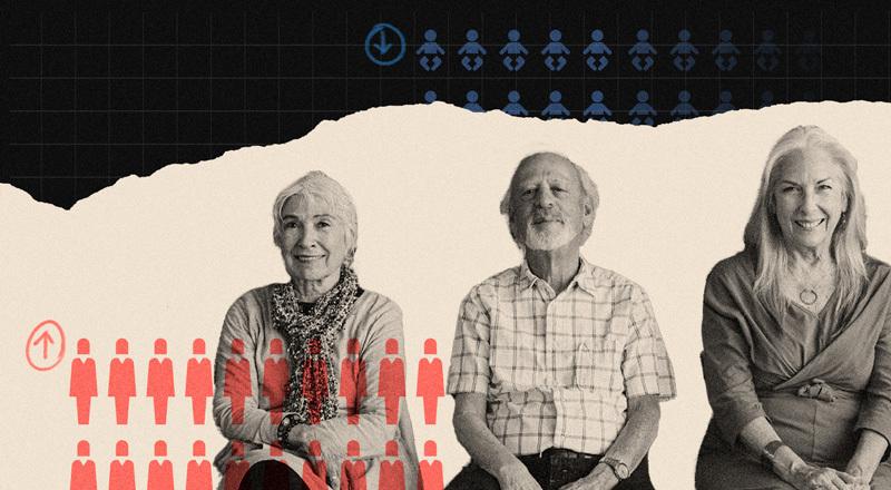 Menos nacimientos y más personas mayores: qué efectos causará la inminente disminución poblacional y cómo se prepara el mundo para este escenario