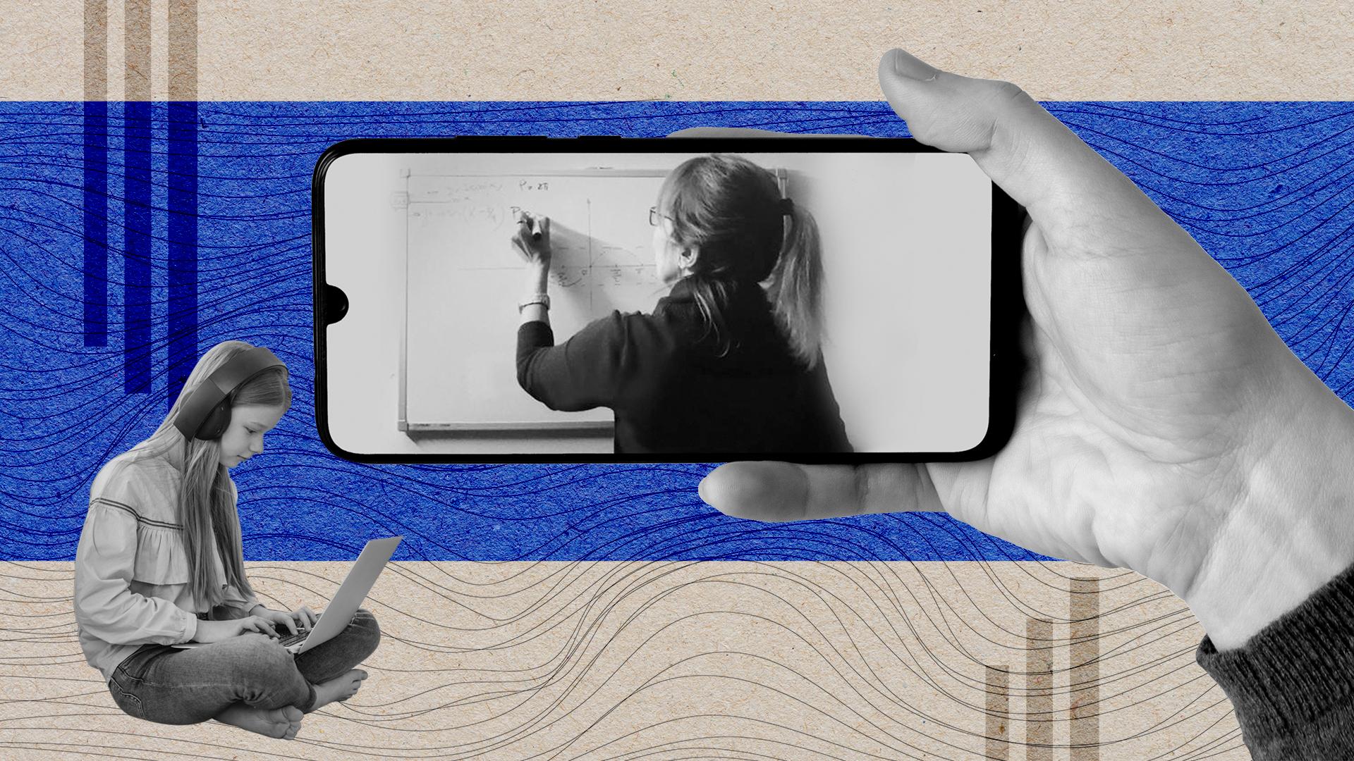 Sin aulas para reunirse, los y las docentes buscan a sus estudiantes en las redes sociales