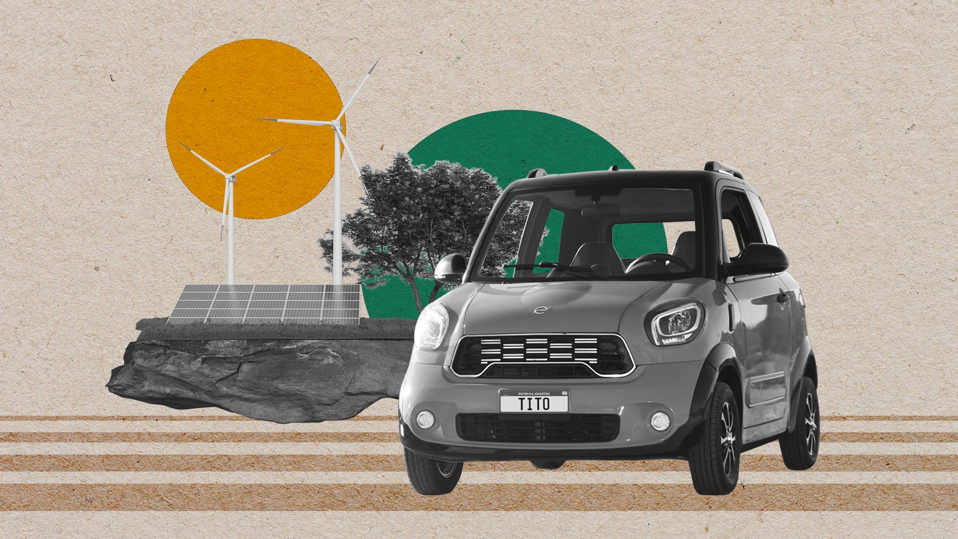 Tito, el auto eléctrico de San Luis que da un paso más hacia una industria no contaminante