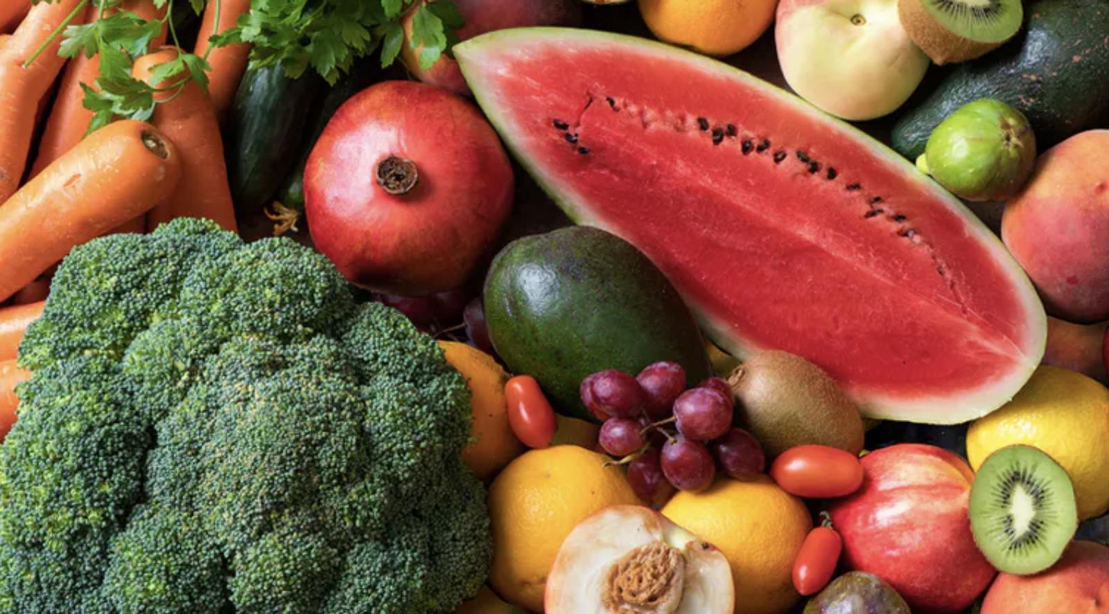 Frutas y verduras, lo más parecido que existe a un 'alimento milagro'