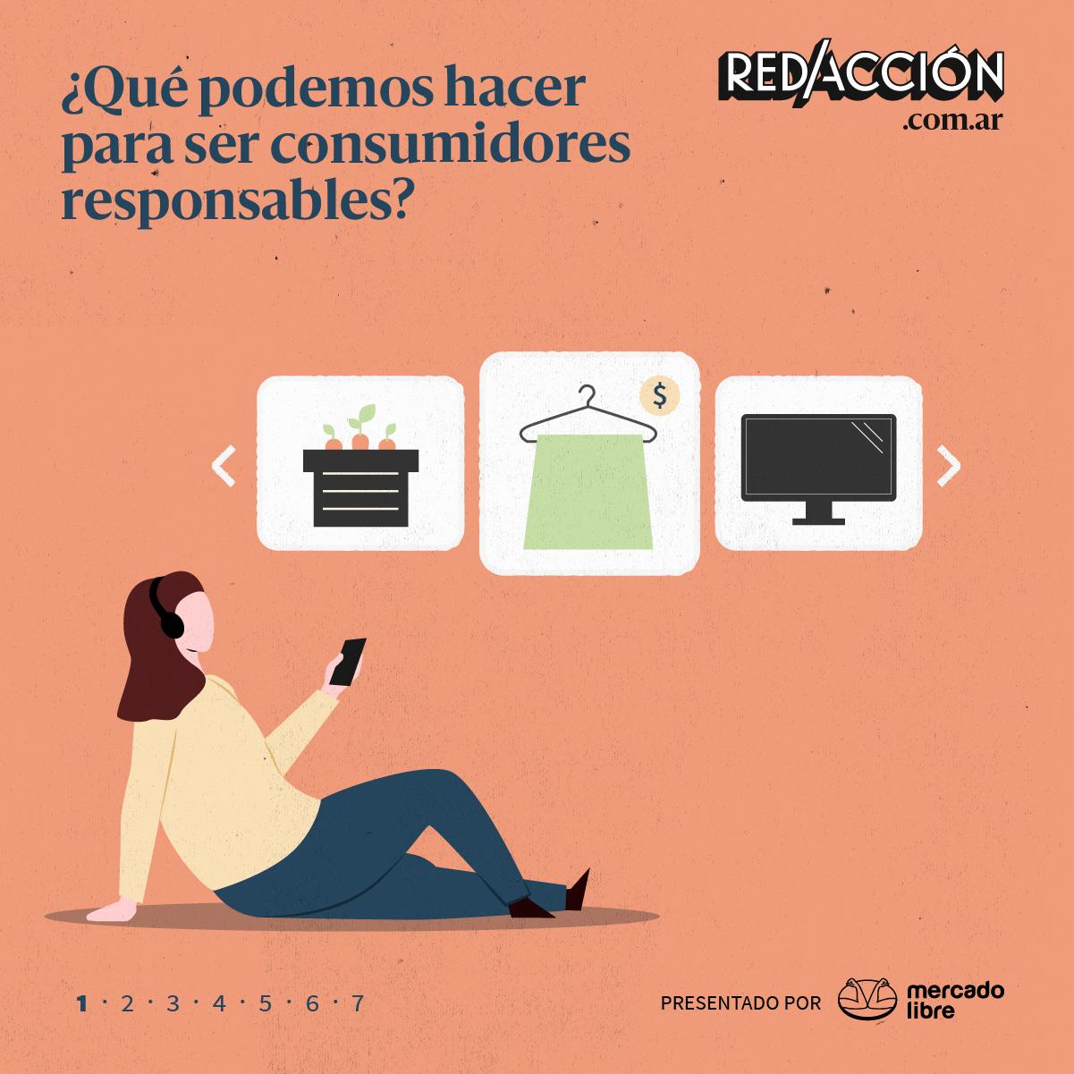 ¿Qué podemos hacer para ser consumidores responsables?