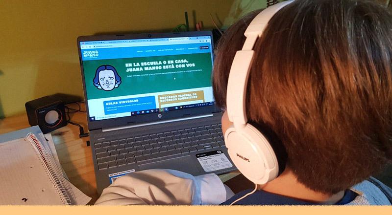 Qué es y cómo se puede usar la plataforma educativa Juana Manso