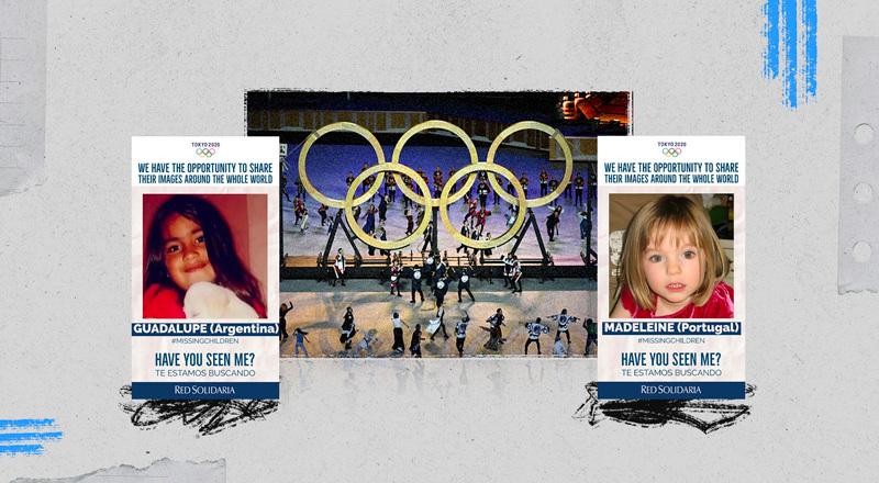 Juegos Olímpicos: una oportunidad para buscar a niños, niñas y adolescentes perdidos