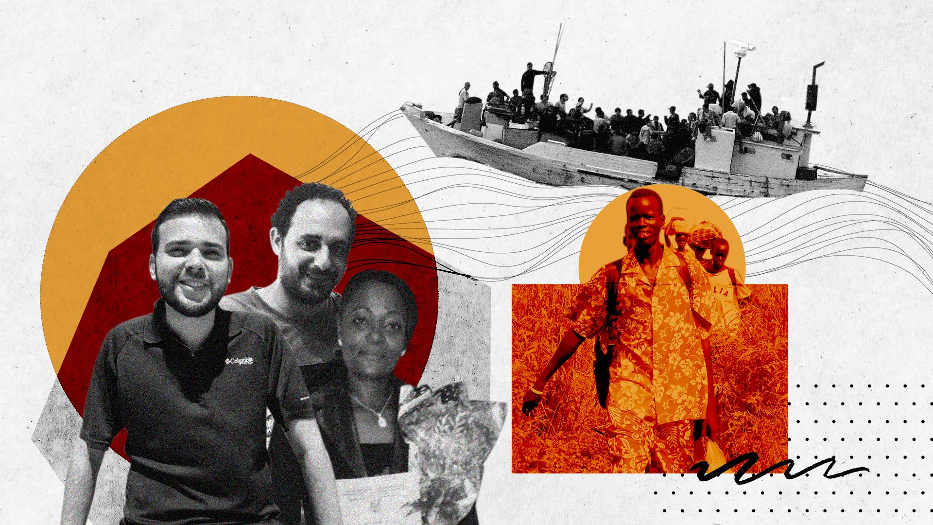 En la vida de los migrantes en la Argentina, el apoyo de otras personas es tan importante como las políticas de contención
