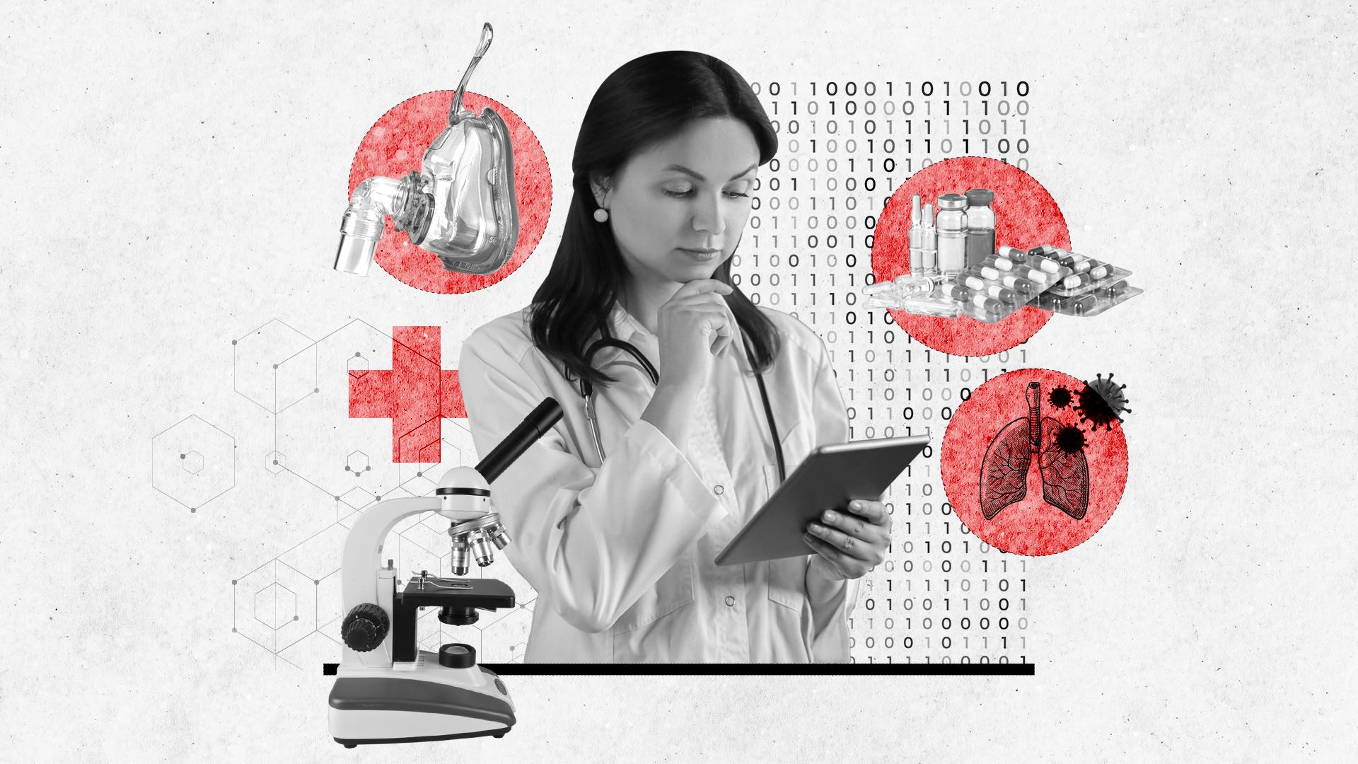 Cómo el análisis de big data predijo la cantidad de pacientes de COVID-19 en una terapia intensiva