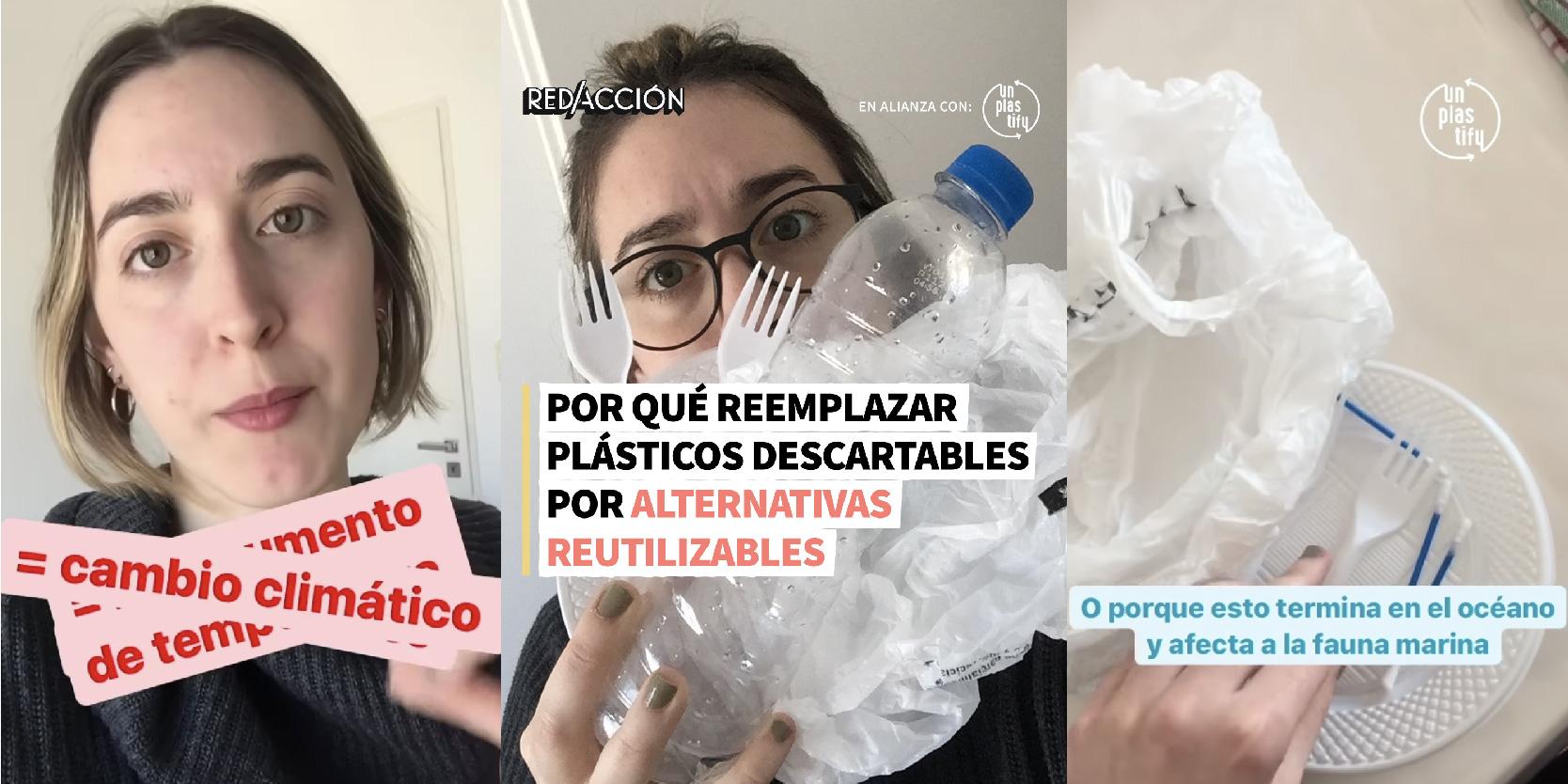Por qué reemplazar plásticos descartables por alternativas reutilizables