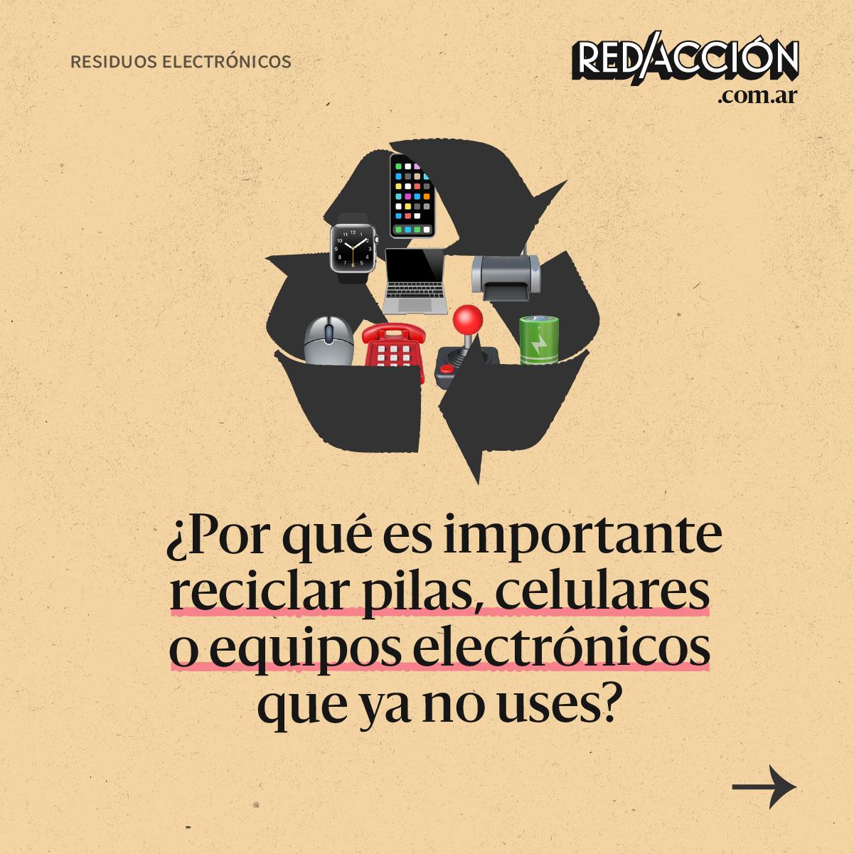 Por qué debemos reciclar equipos electrónicos y dónde podemos hacerlo
