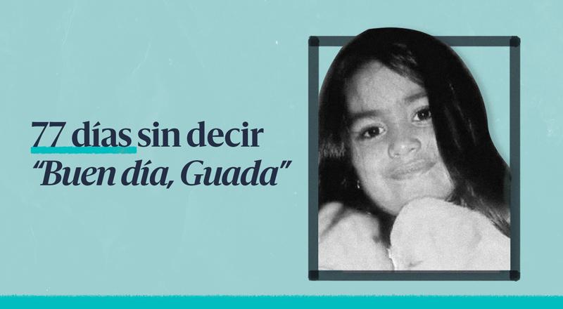 Una imagen recuerda la desaparición de Guadalupe Lucero.
