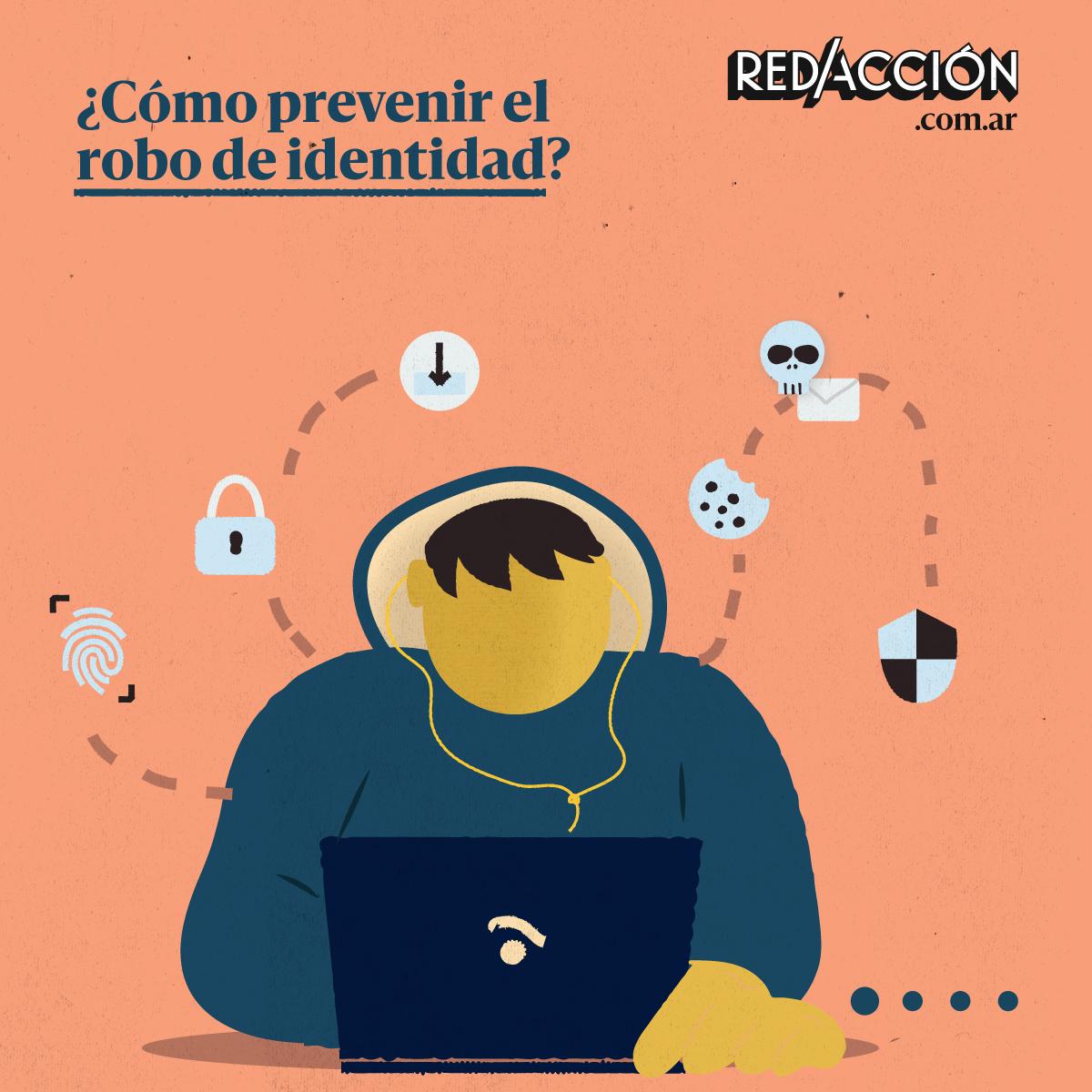 ¿Qué se debe hacer para evitar el robo de identidad?