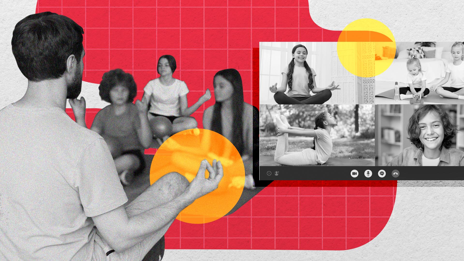 Las prácticas de yoga en escuelas que ayudaron a transitar la pandemia