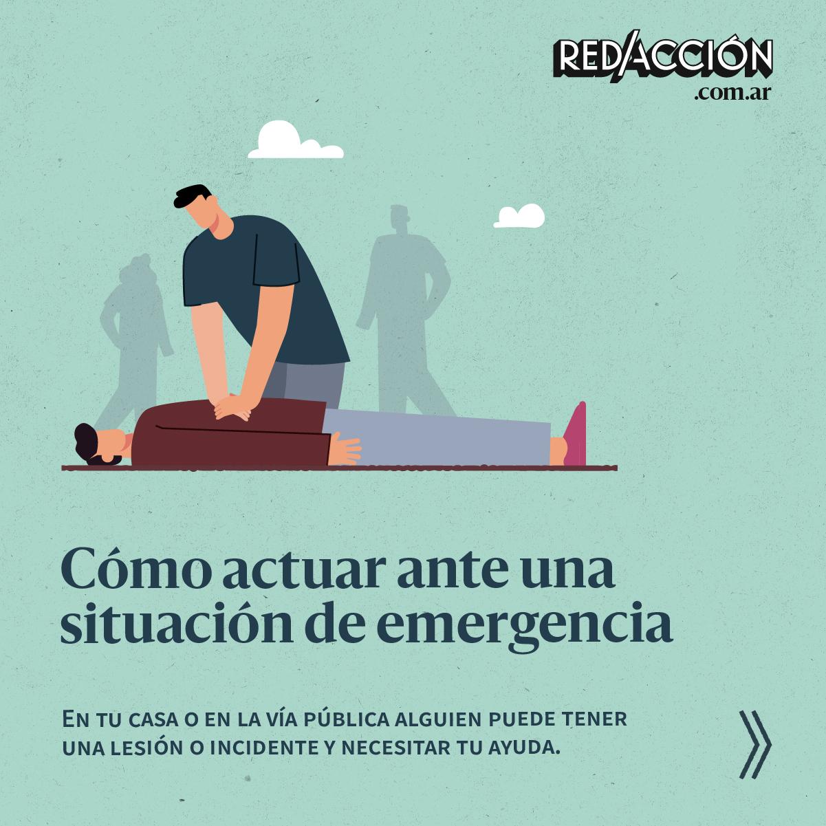 Cómo actuar ante una situación de emergencia